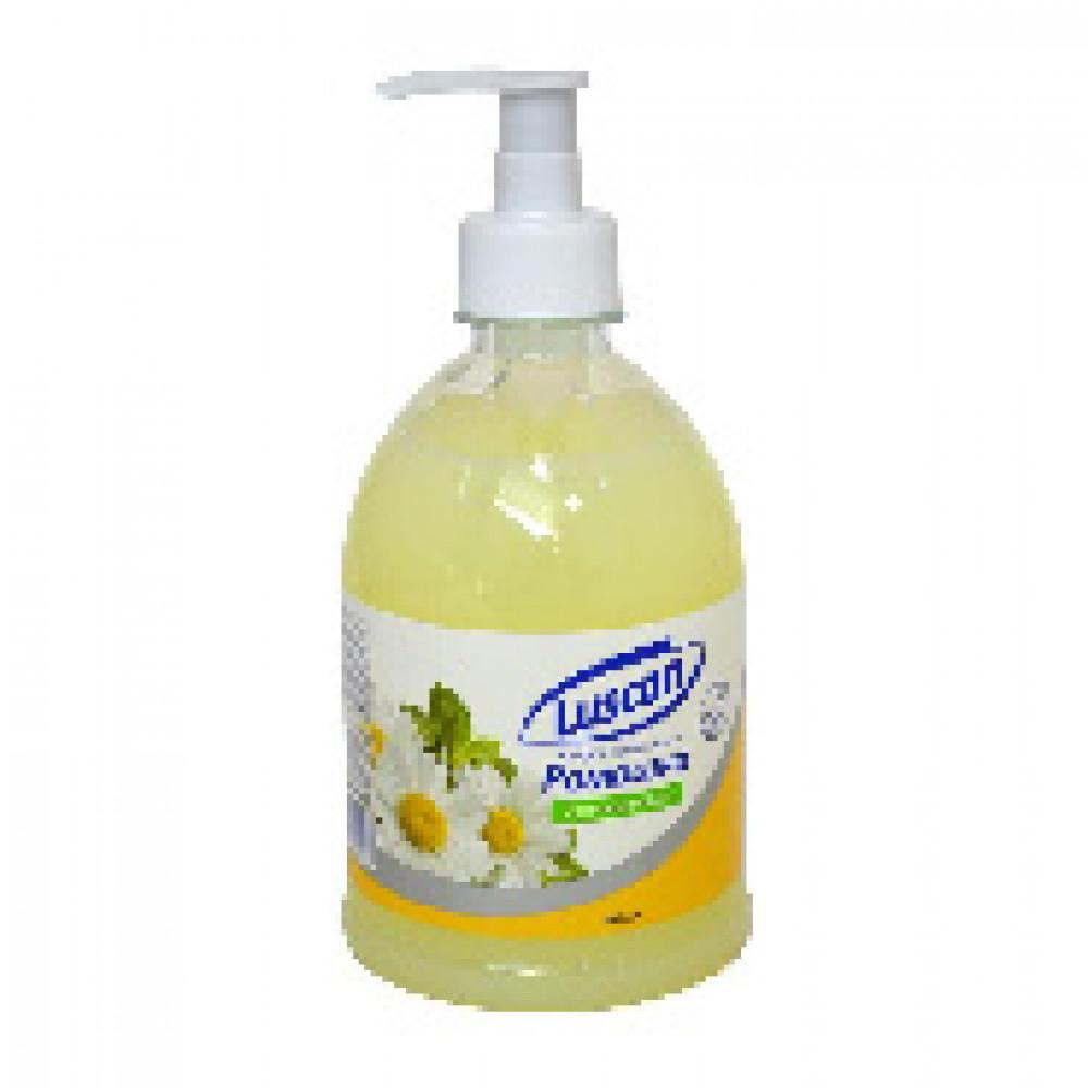 Крем-мыло жидкое LUSCAN Ромашка 500мл с дозатором
