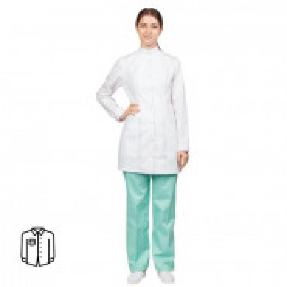 Блуза женская удлиненная м13-БЛ (р.52-54) р.158-164