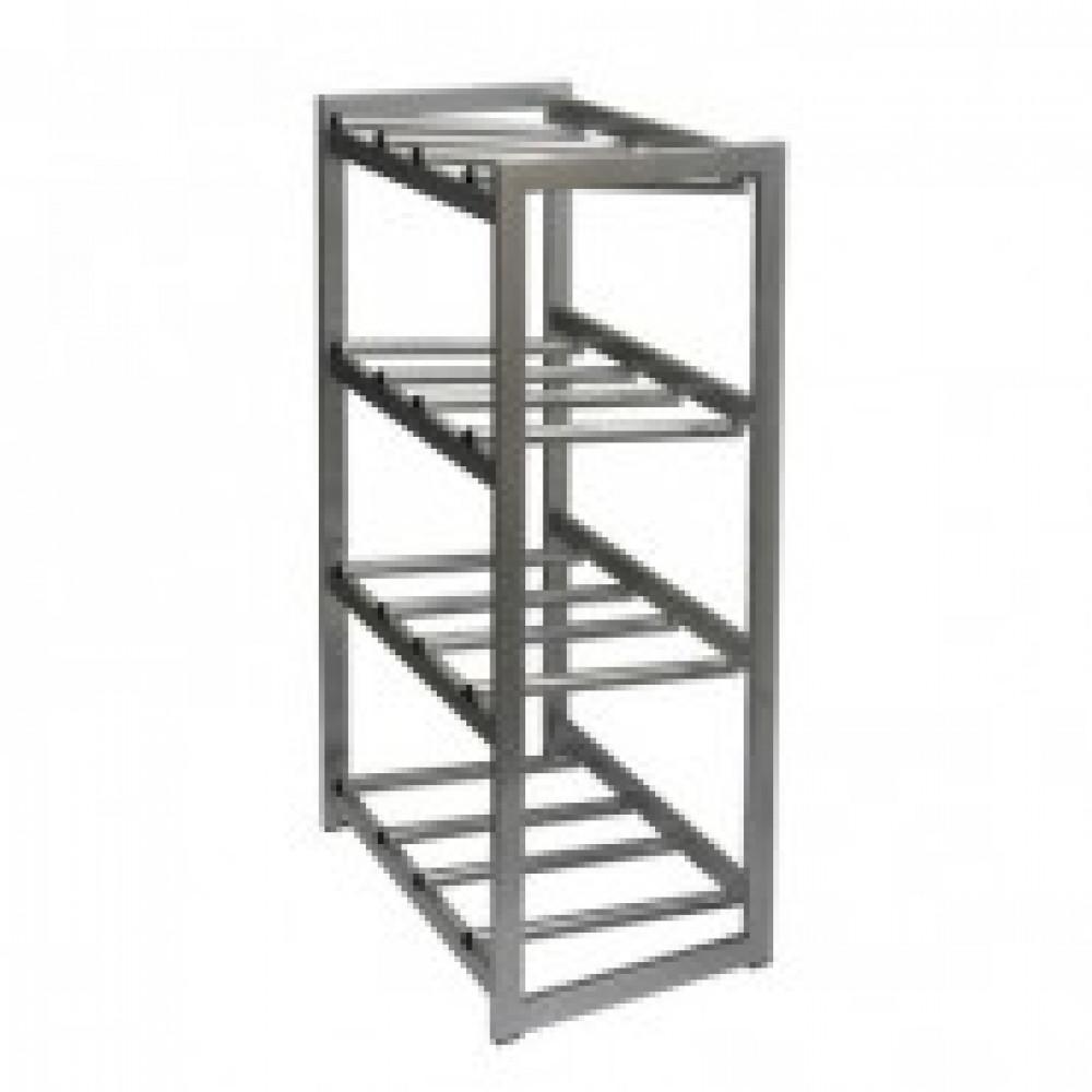 Метал.Мебель KD_Бомис-8Р стеллаж для воды бутилир. на 8 тар