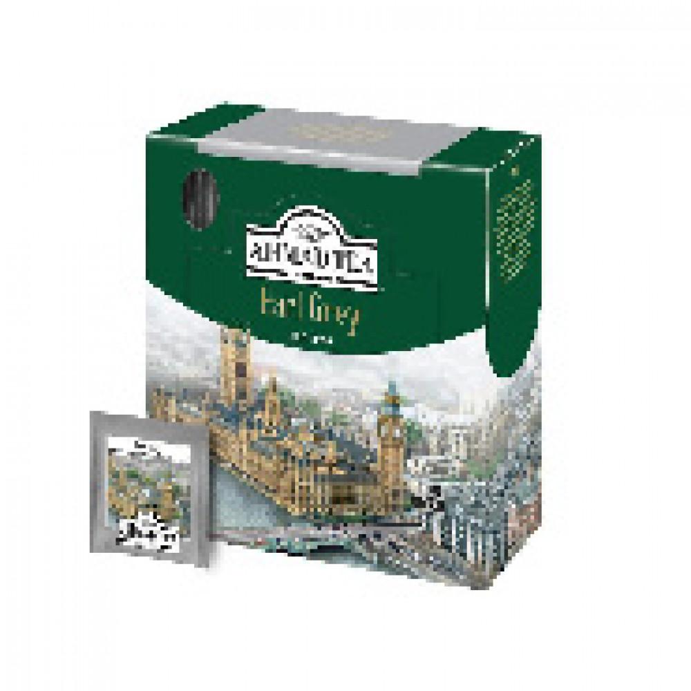 Чай Ahmad Earl grey черный бергамот 100пак/уп 5951-08