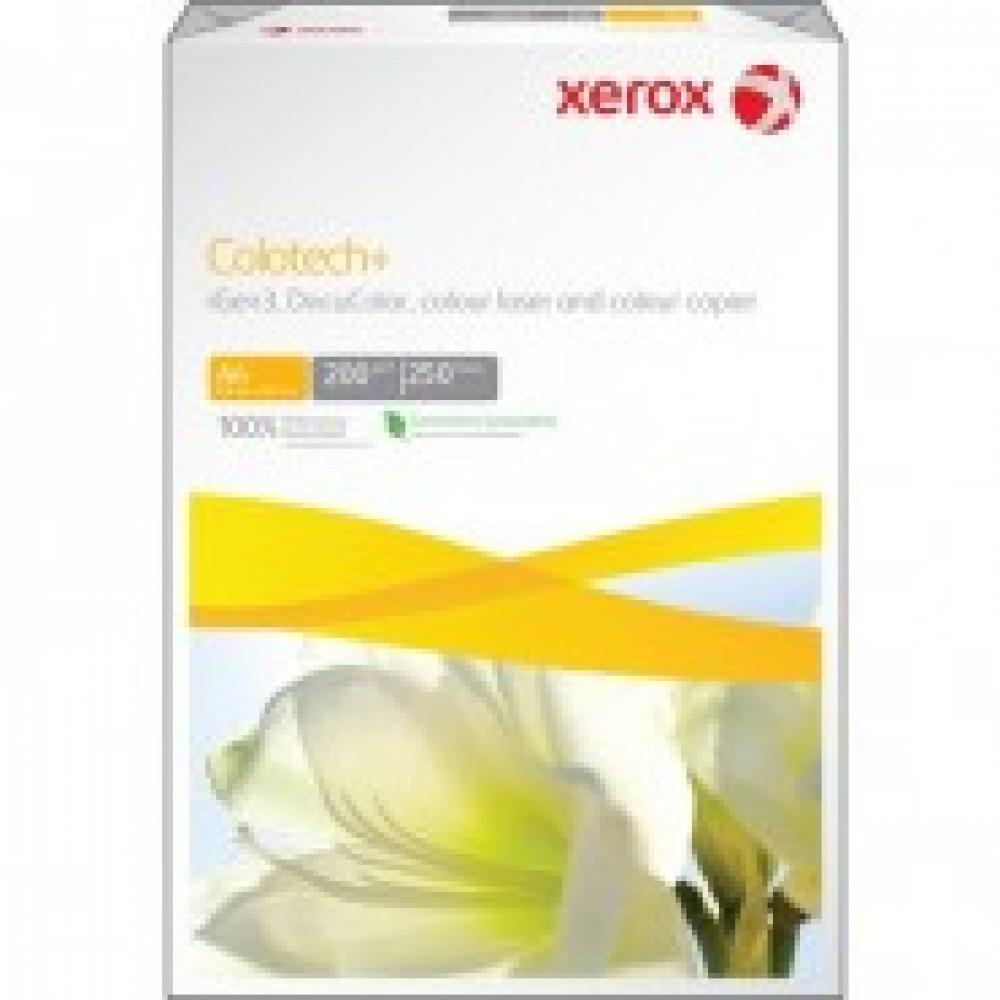 Бумага для цв.лазер.печ. XEROX Colotech plus (А4,200г,170%CIE) пачка250л.