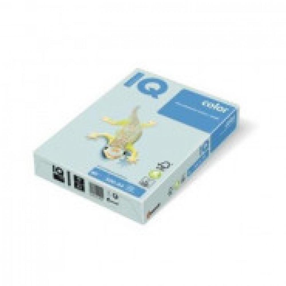 Бумага цветная для печати IQ Color голубая пастель BL29 (А3, 80 г/кв.м, 500 листов)