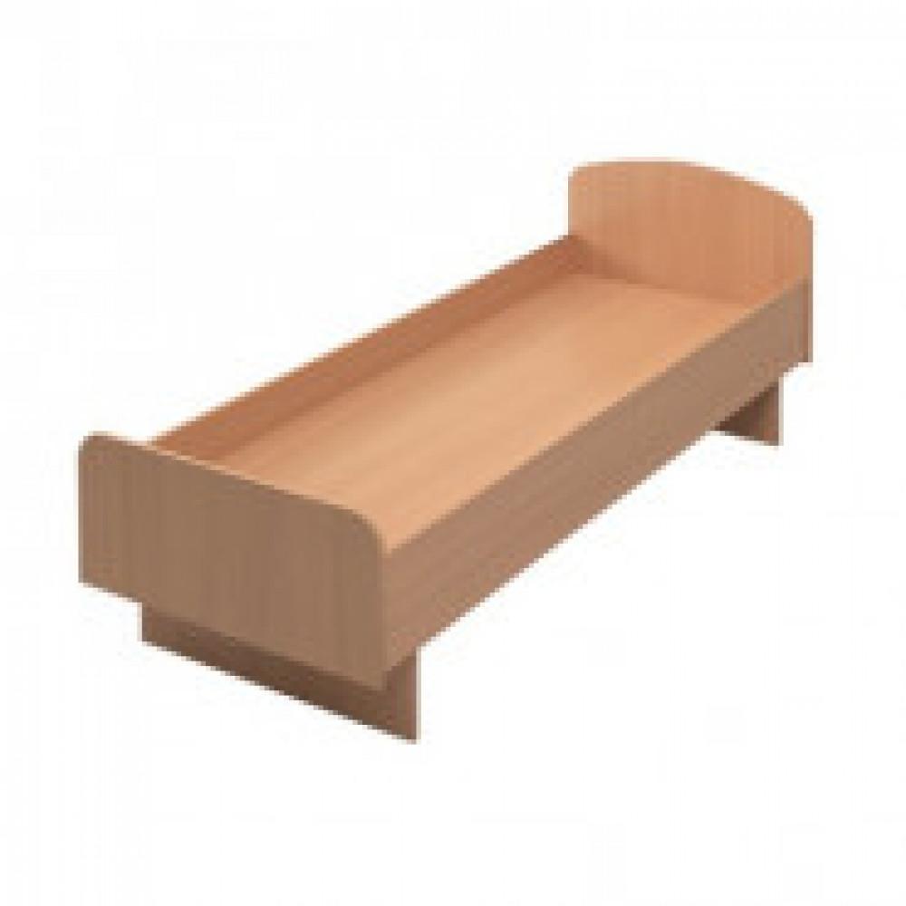 Мебель для общежитийMon_Для Общежитий кровать КР03.10 (74х190) бук