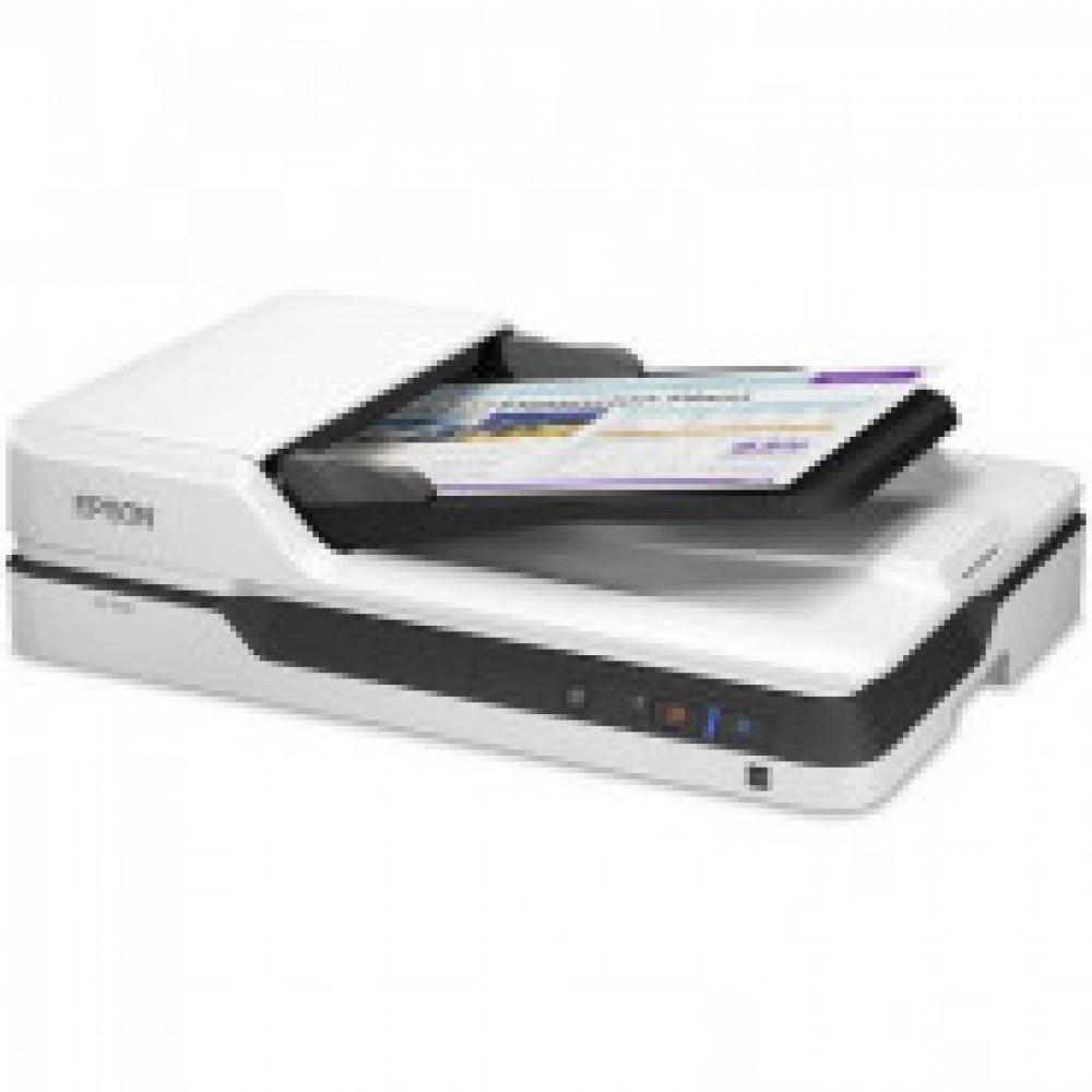 Сканер Epson WorkForce DS-1630 (B11B239401) A4 25стр/мин планшетный