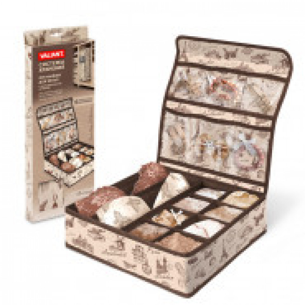 Мебель для дома VAL TRAVELLING Органайзер д/белья с кр,10секц,6к,TR-S10P6
