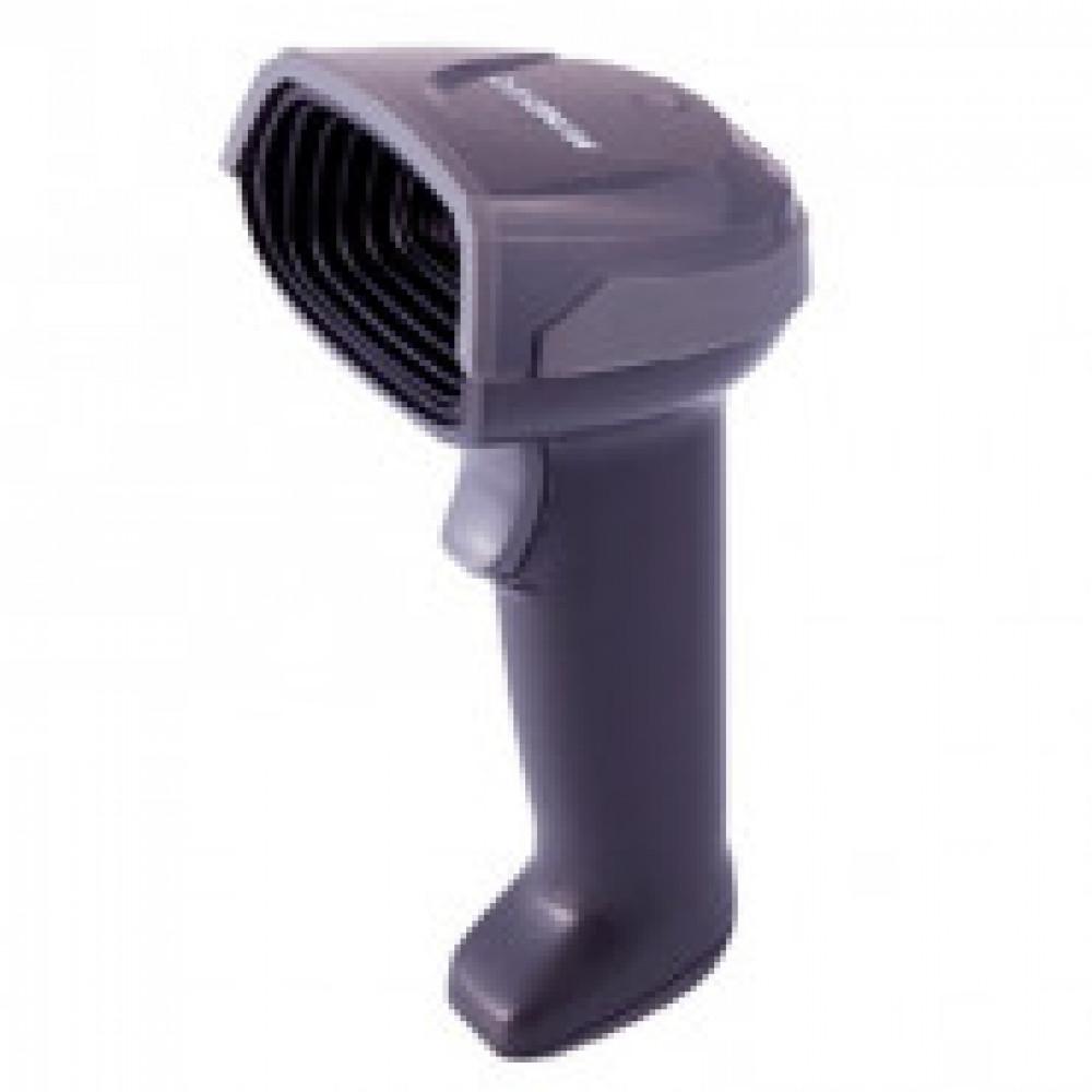 Сканер ШК Mindeo MD6000AT ручной, 2D имидж, серый, подставка, USB
