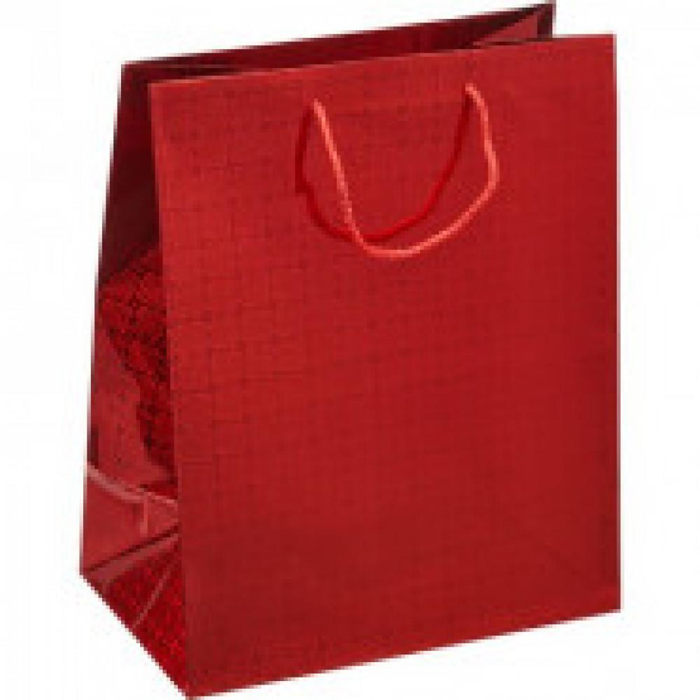 Пакет Подарочный 26х32х15 см голография 42066