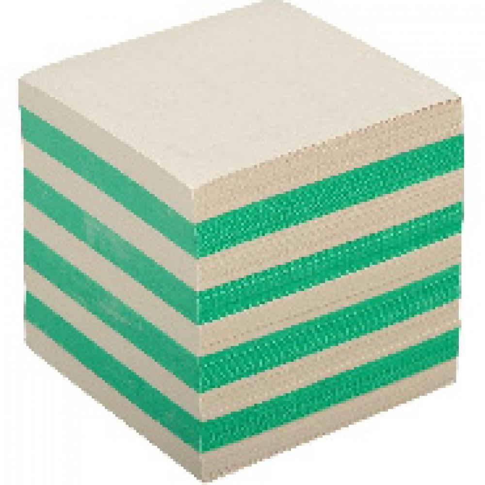 Блок для записей ATTACHE ЭКОНОМ на склейке 9х9х9 цветной Т