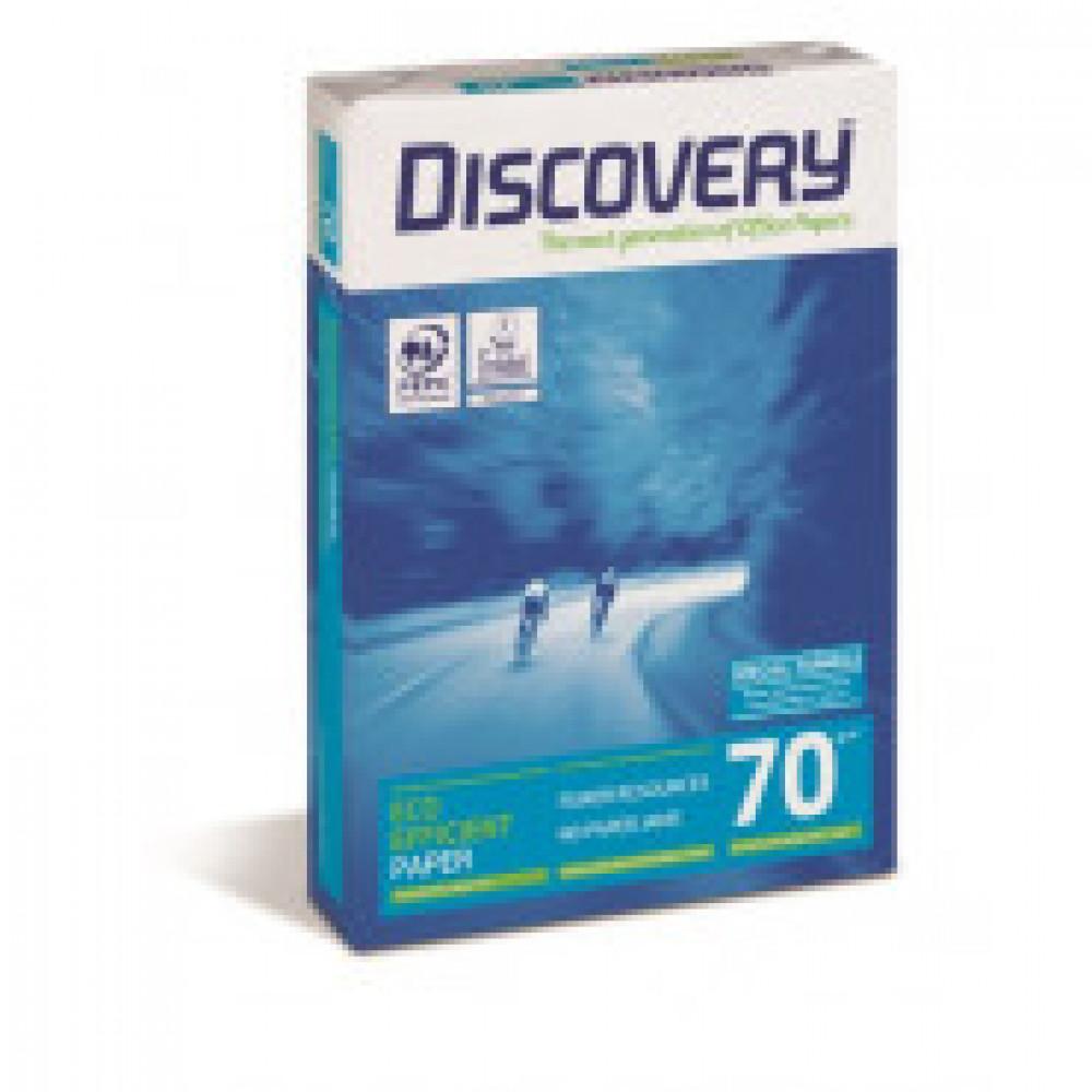 Бумага для ОфТех Discovery (А4,70г,161%CIE) пачка 500л.