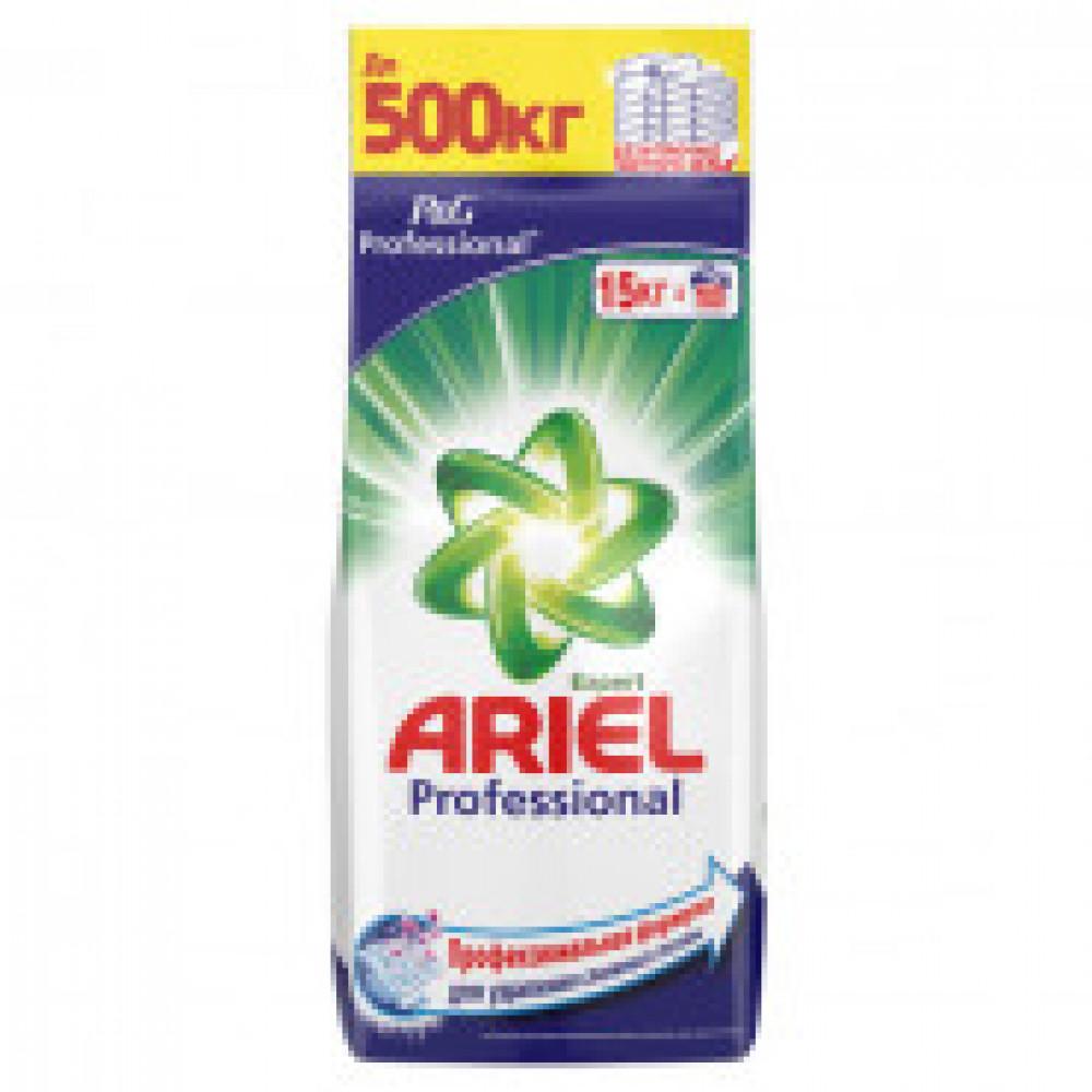 Порошок стиральный Ariel Expert Professional автомат 15кг д/белого белья