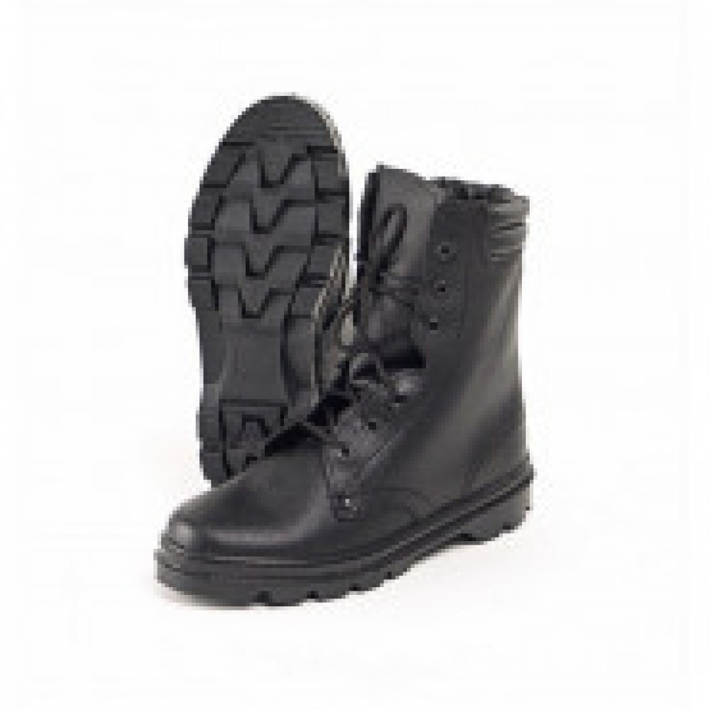 Ботинки  ОМОН  с высоким берцем юфтевые (р.43)