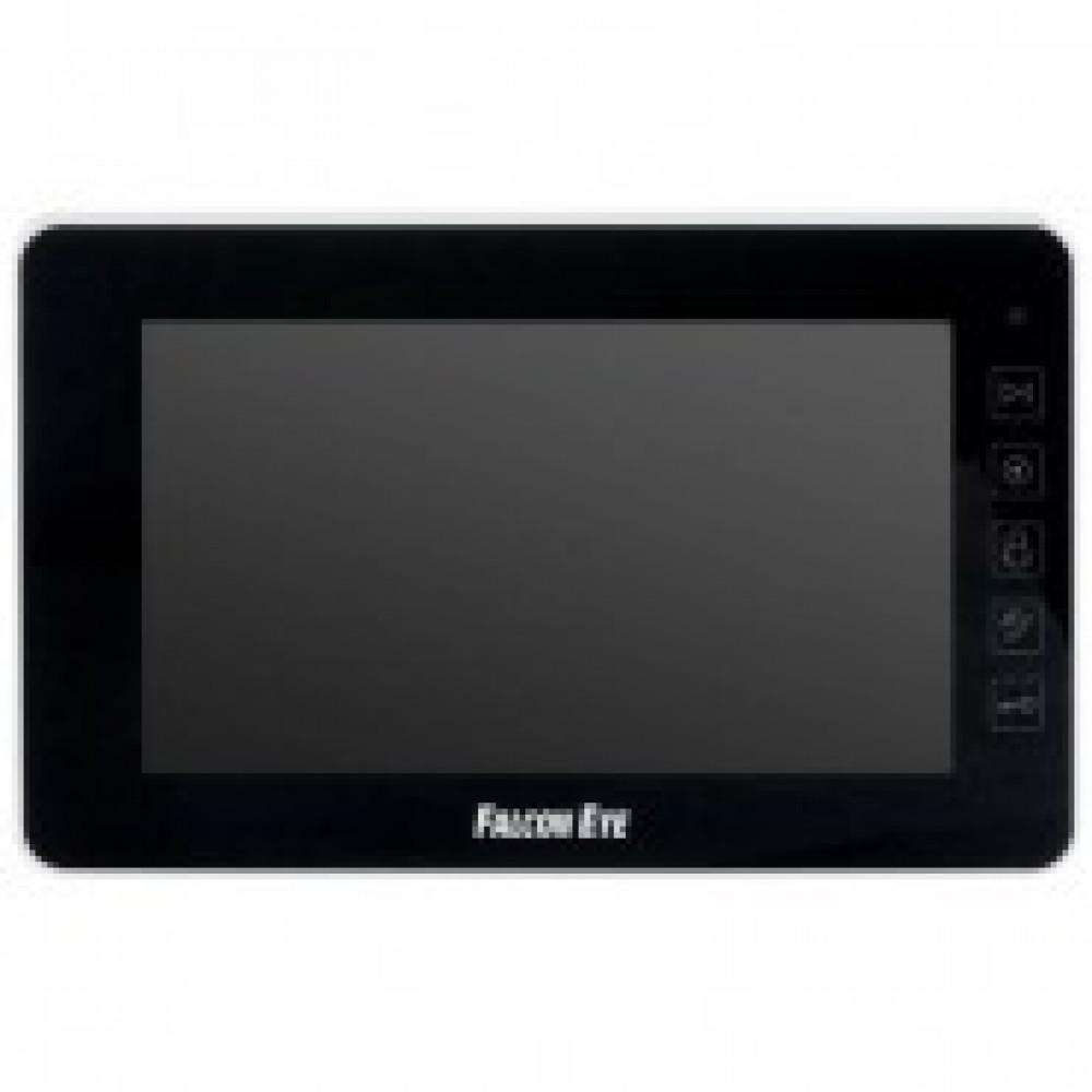 Видеодомофон Falcon Eye FE-70w Black цветной,сенсор,7дюймов,2вызыв.панели