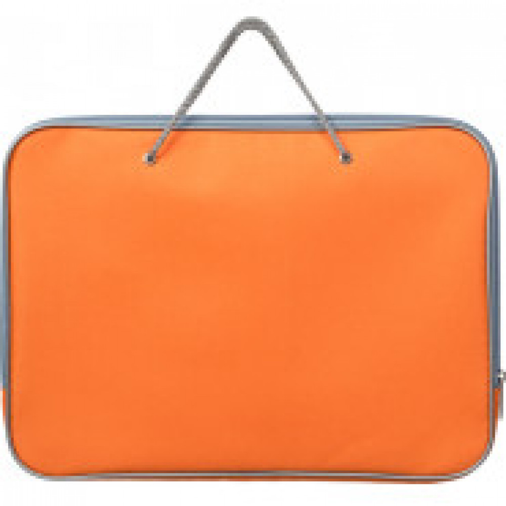 Папка на молнии с ручками офисн. А4 Attache F.L.оранж., нейлон