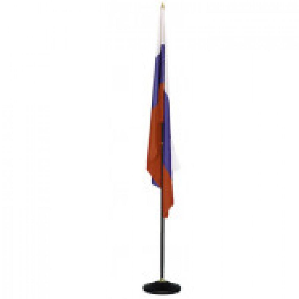 Госуд-ая символика TI_Флаг России напольный, черный флагшток, Россия