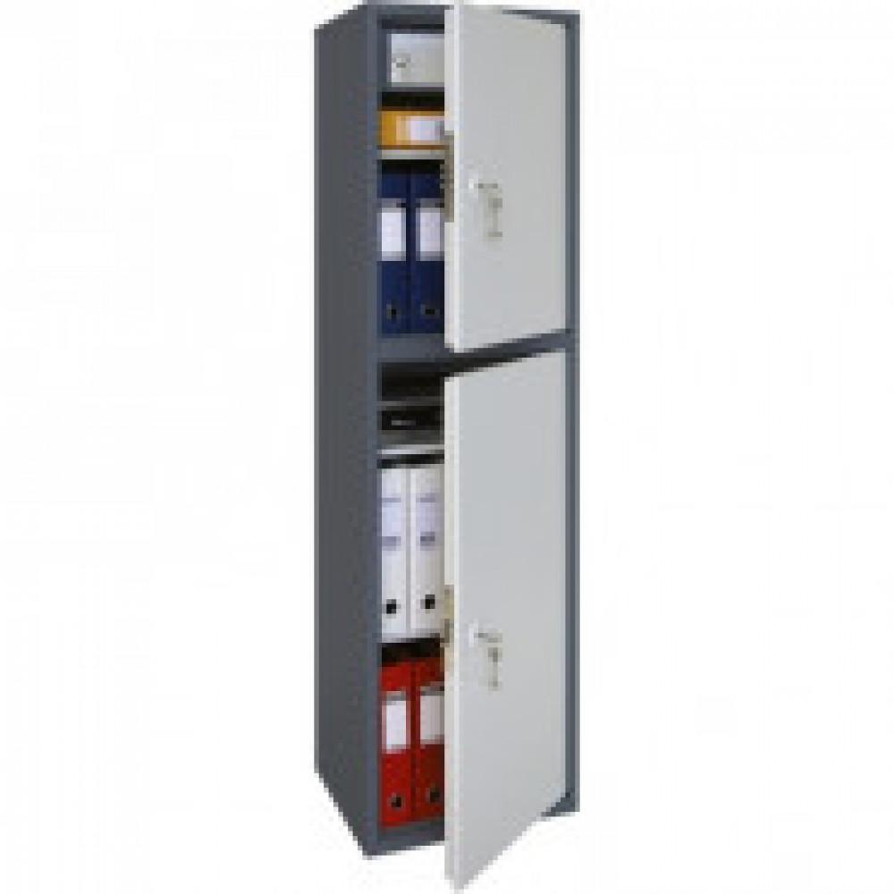 Метал.Мебель AIKO SL-150/2T шкаф д/бумаг 2 отд., 460х340х1490