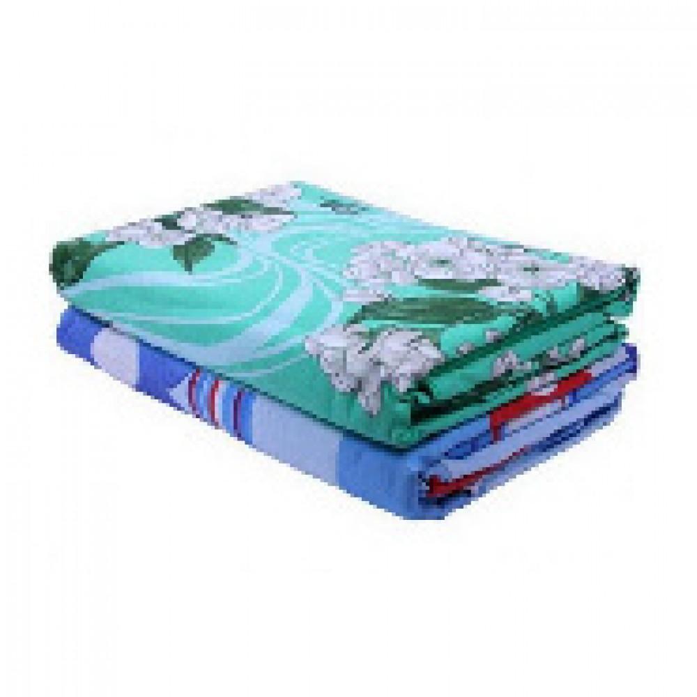 Комплект постельного белья 1 сп микрофибра 65 г/м2 (нав.70х70) ассортимент