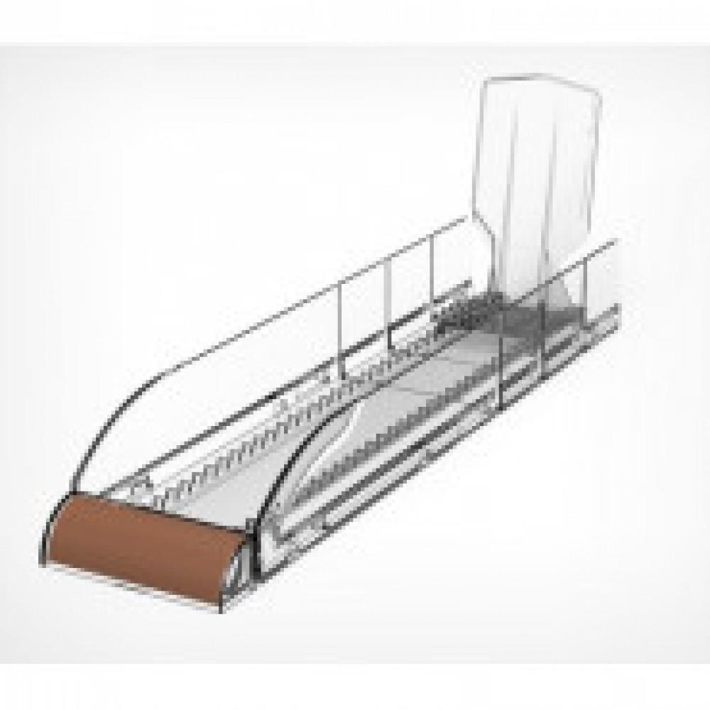 Лоток для выкладки плиточного шоколада, внутр. ширина 85мм, глубина 350мм