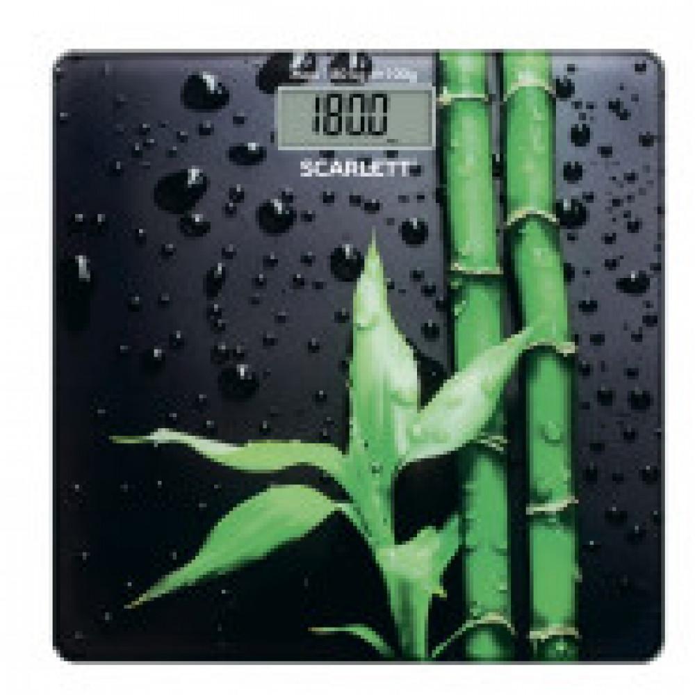 Весы Напольные Scarlett SC - BS33E051, электронные, стекло, 180 кг