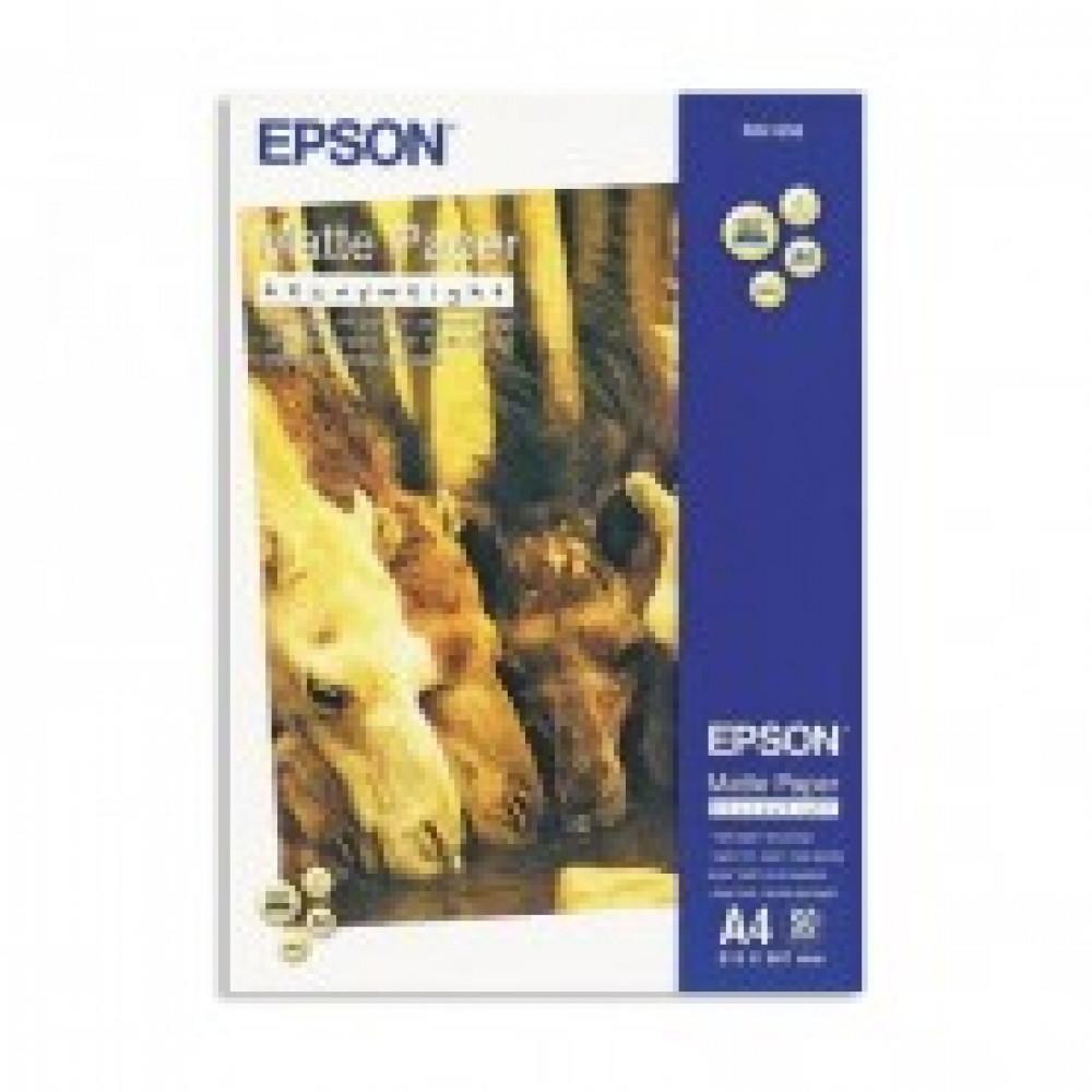 Бумага для цв.струй.печ. EPSON s041256 (А4,167г,матовая) пачка 50л.