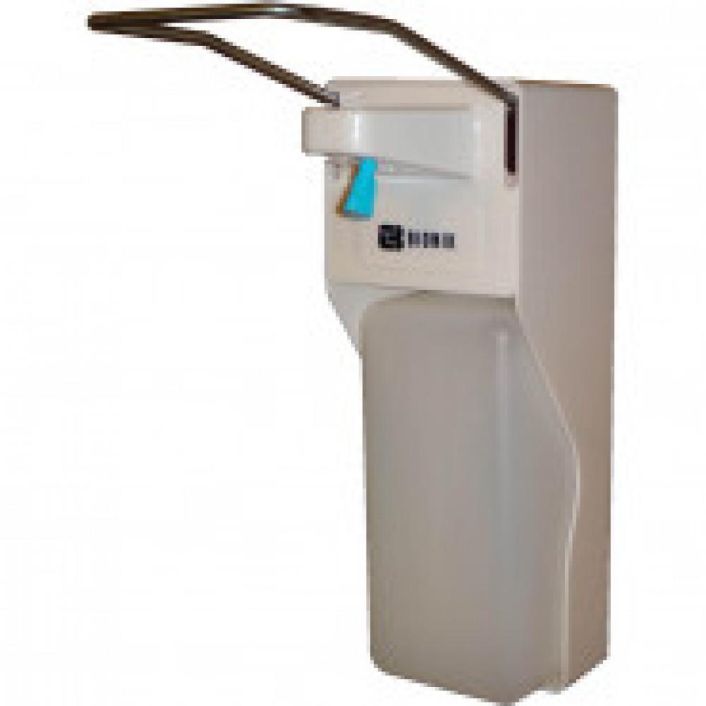 Дозатор для жидкого мыла Bio эконом локтевой с рассекателем 1000мл