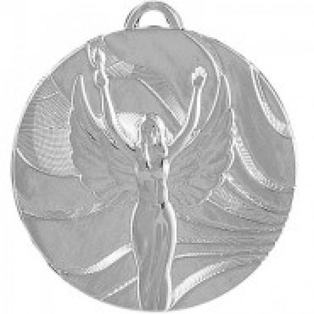 Медаль Ника MD2350/ S 50мм G-2мм 2 место 337422