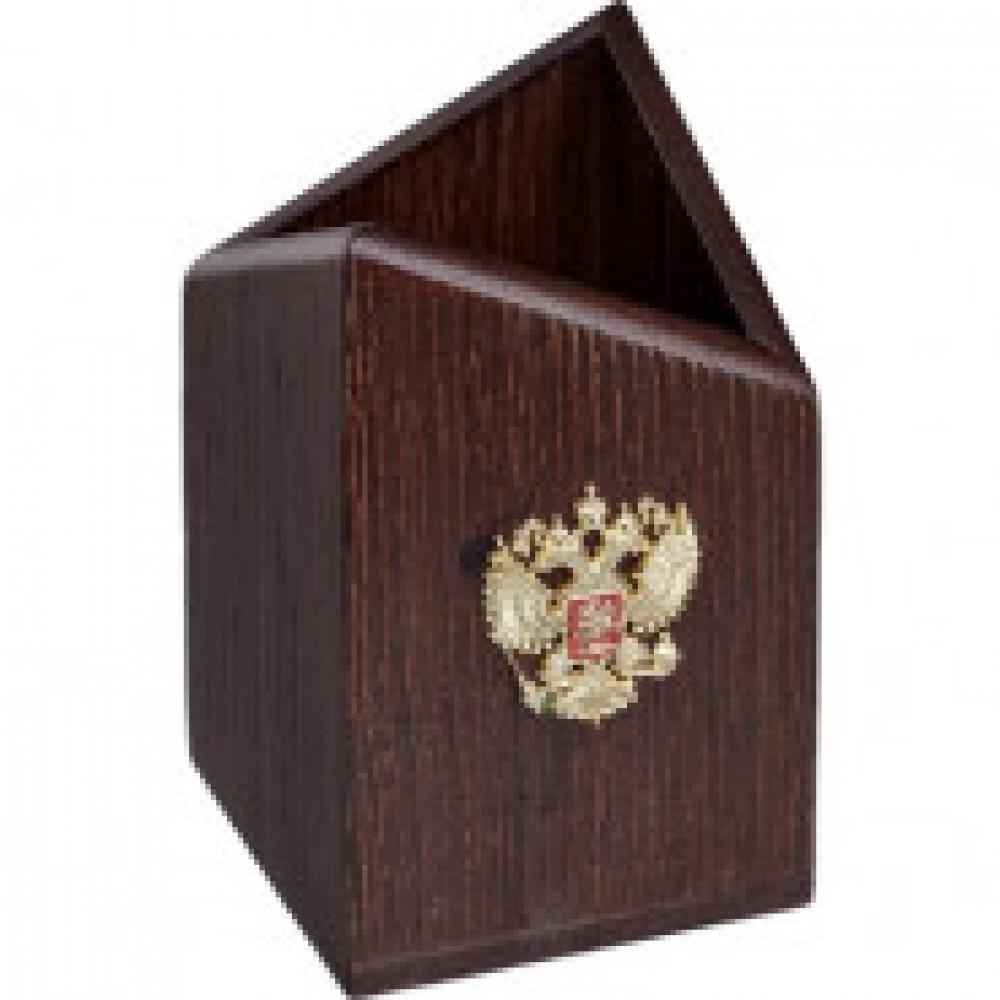 Подставка для канцелярии деревянная РФ КР-03