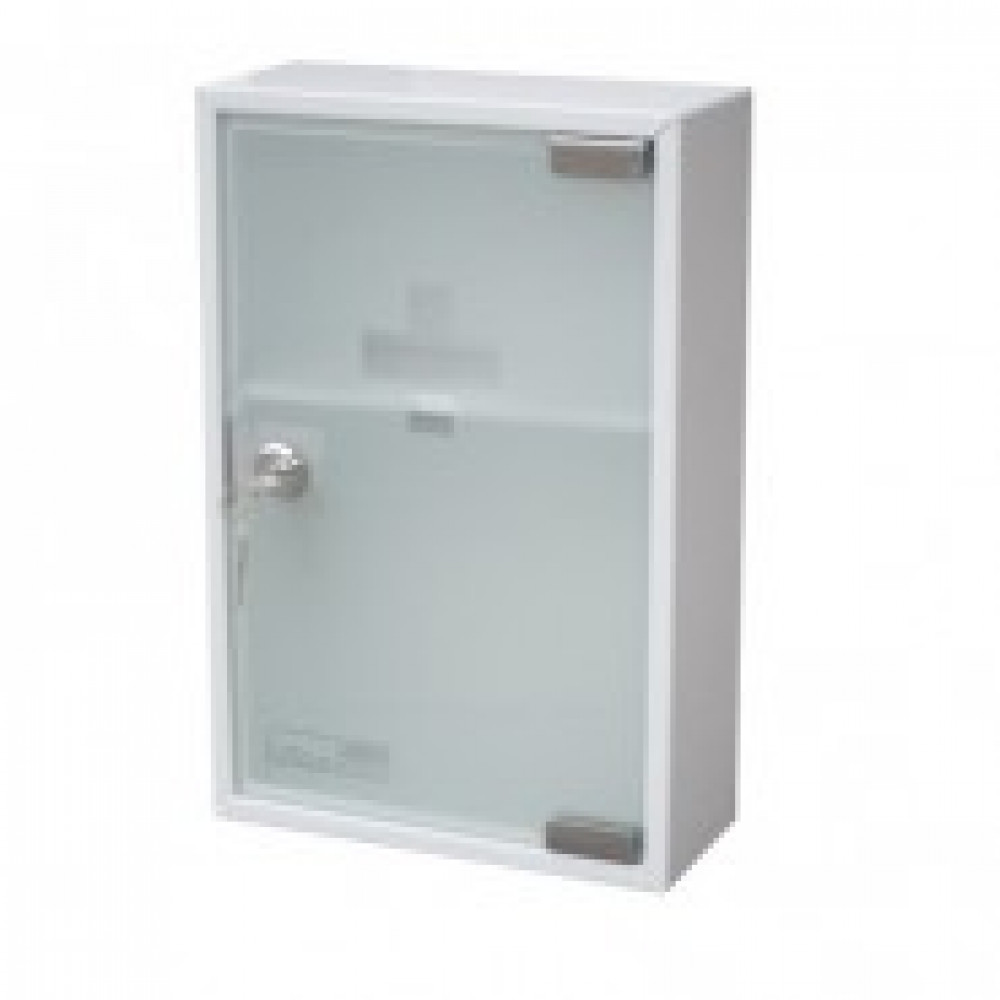 Аптечка металлическая Office-Force 20096 стекл. дверь, 215х80х320