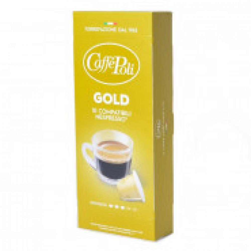 Капсулы для кофемашин Caffe Poli Gold 10*5,2г.
