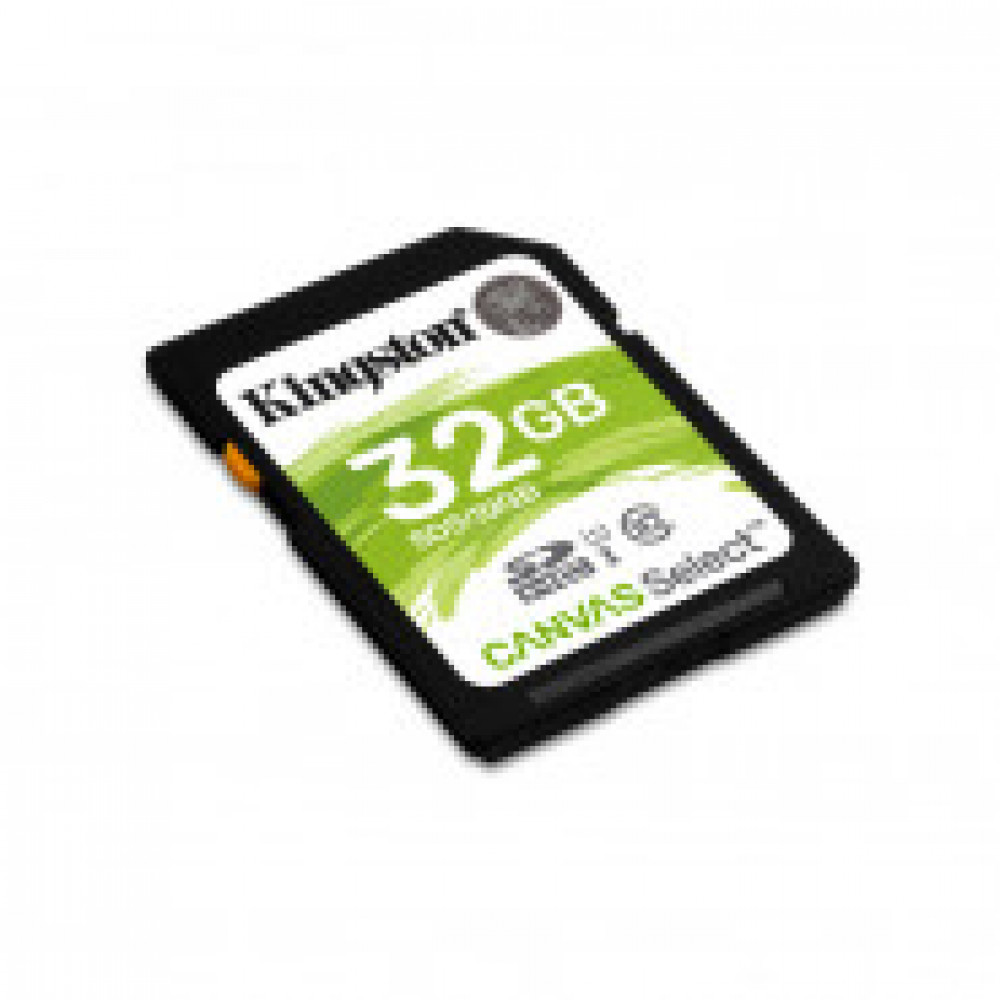 Карта памяти Kingston Canvas Select SDHC 32Gb, Class 10 UHS-I, SDS/32GB