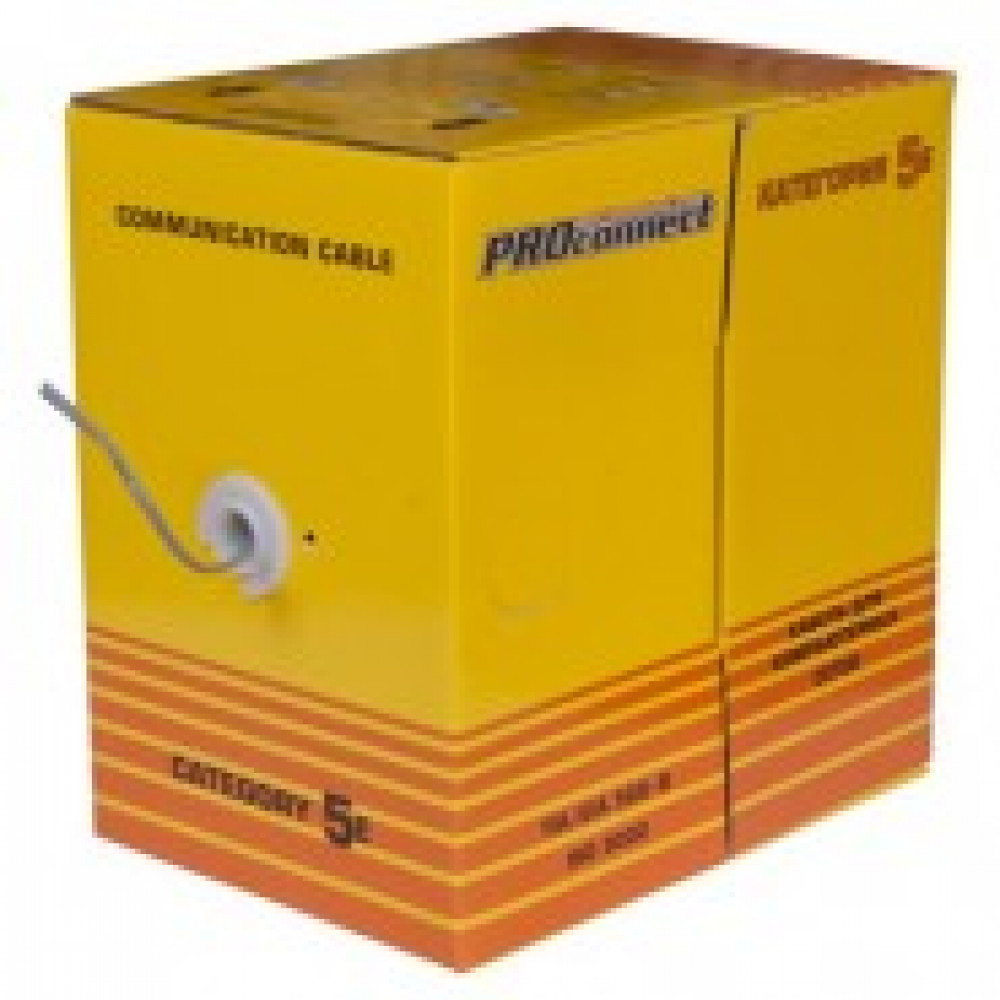 Кабель PROCONNECT UTP 2PR 24AWG CAT5e 305м