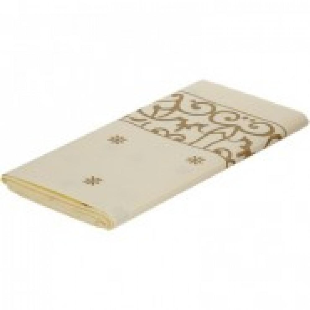 Скатерть бумажная 120*180см Gold 1 шт/уп