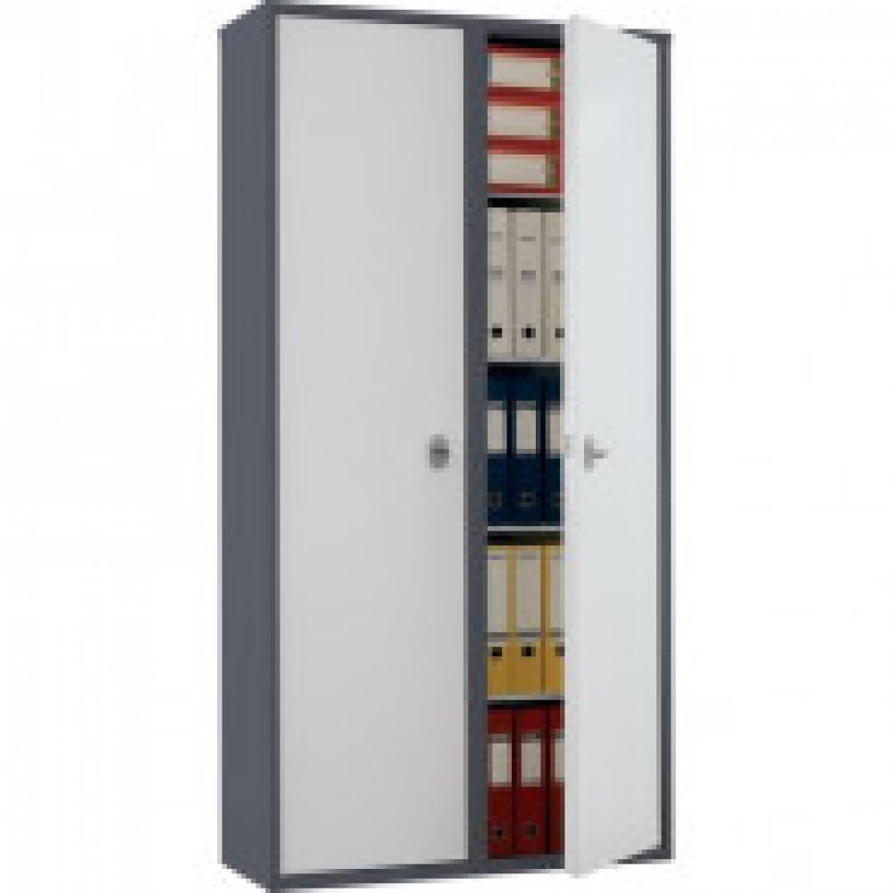 Метал.Мебель AIKO SL-185/2 шкаф д/бумаг 2 отд., 920х340х1800