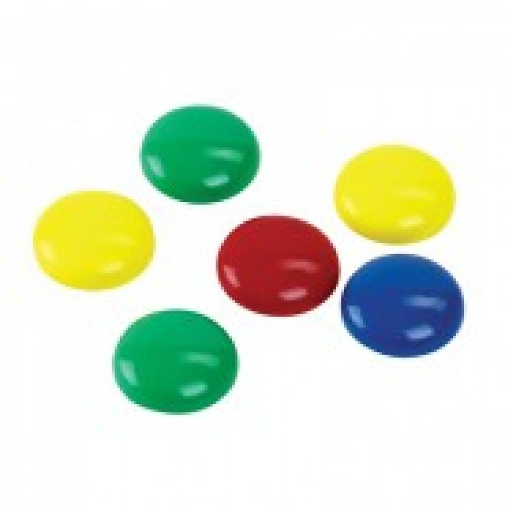 Магнитный держатель для досок Attache (диаметр 30 мм, 6 штук в упаковке)