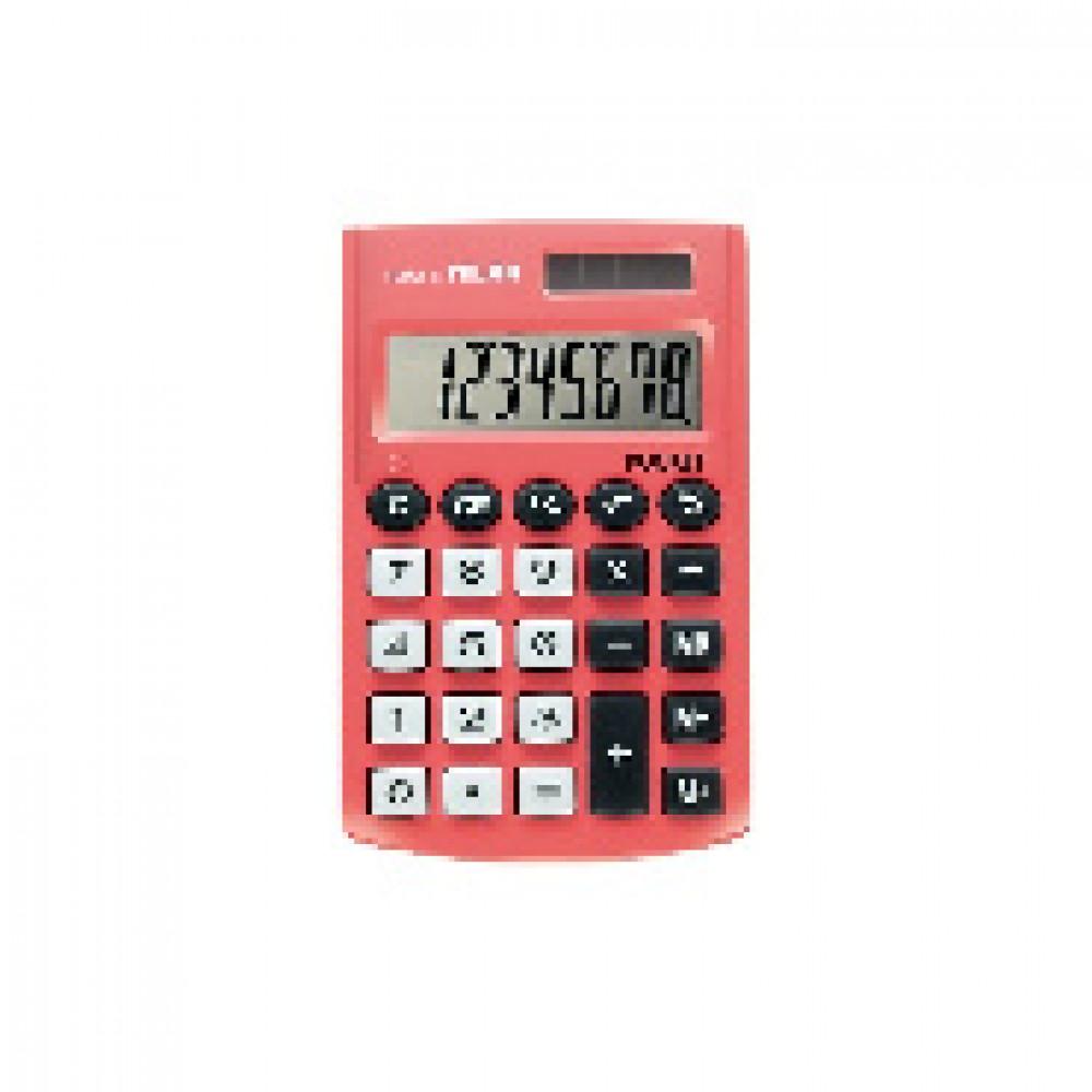 Калькулятор Milan 8-разряд, в чехле, двойное питание, розовый 150908RBL