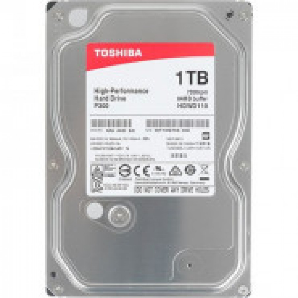 Жесткий диск Toshiba SATA-III 1Tb HDWD110UZSVA P300 (7200rpm) 64Mb3.5_M_K