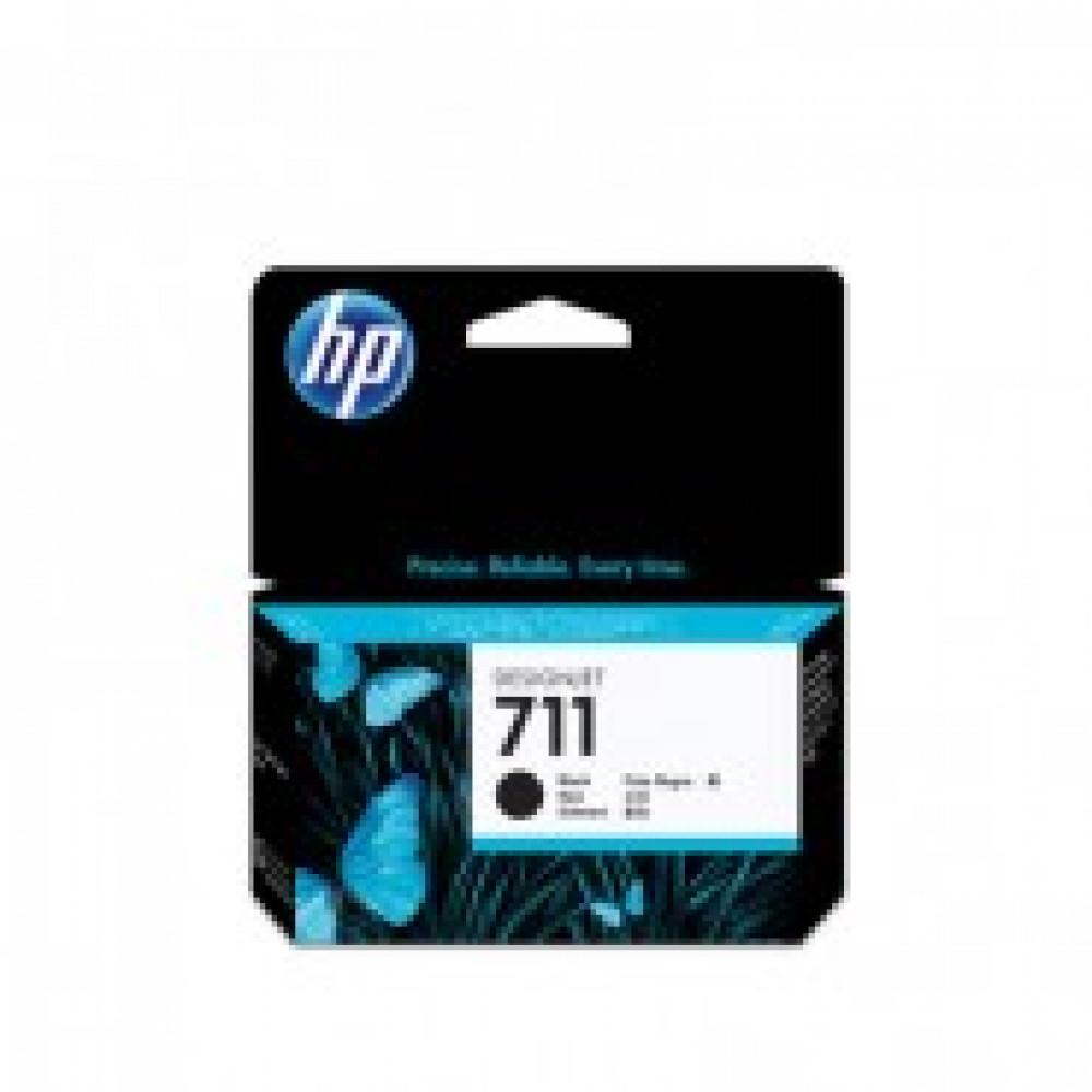 Картридж струйный HP 711 CZ129A чер. для DgnJ T120/520