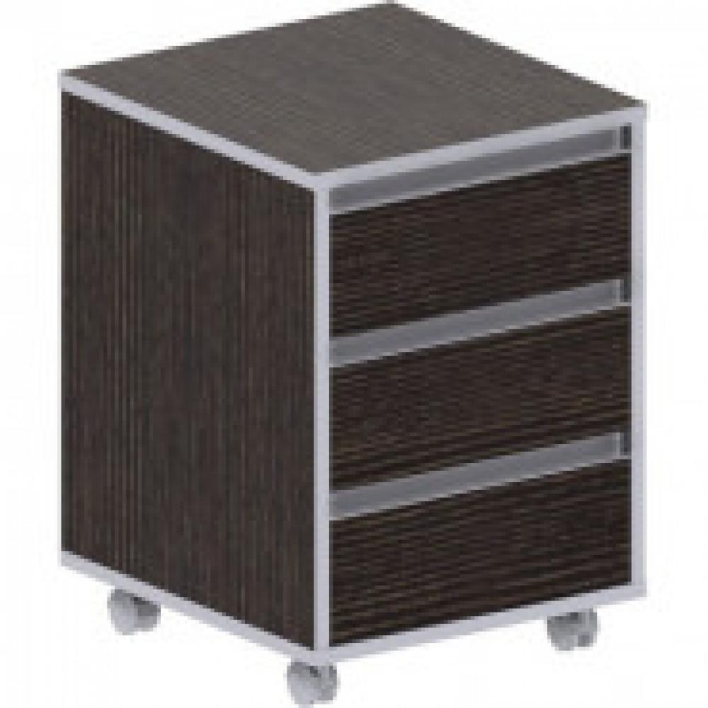 Мебель ED_Vita Тумба вык. V-3.0,центр.замок тем.сосна лоредо