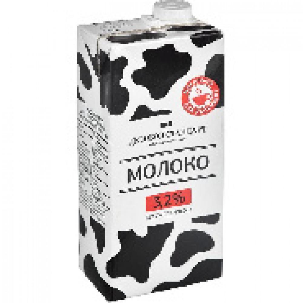 Молоко Деловой стандарт ультрапастер.3,2% 1 л