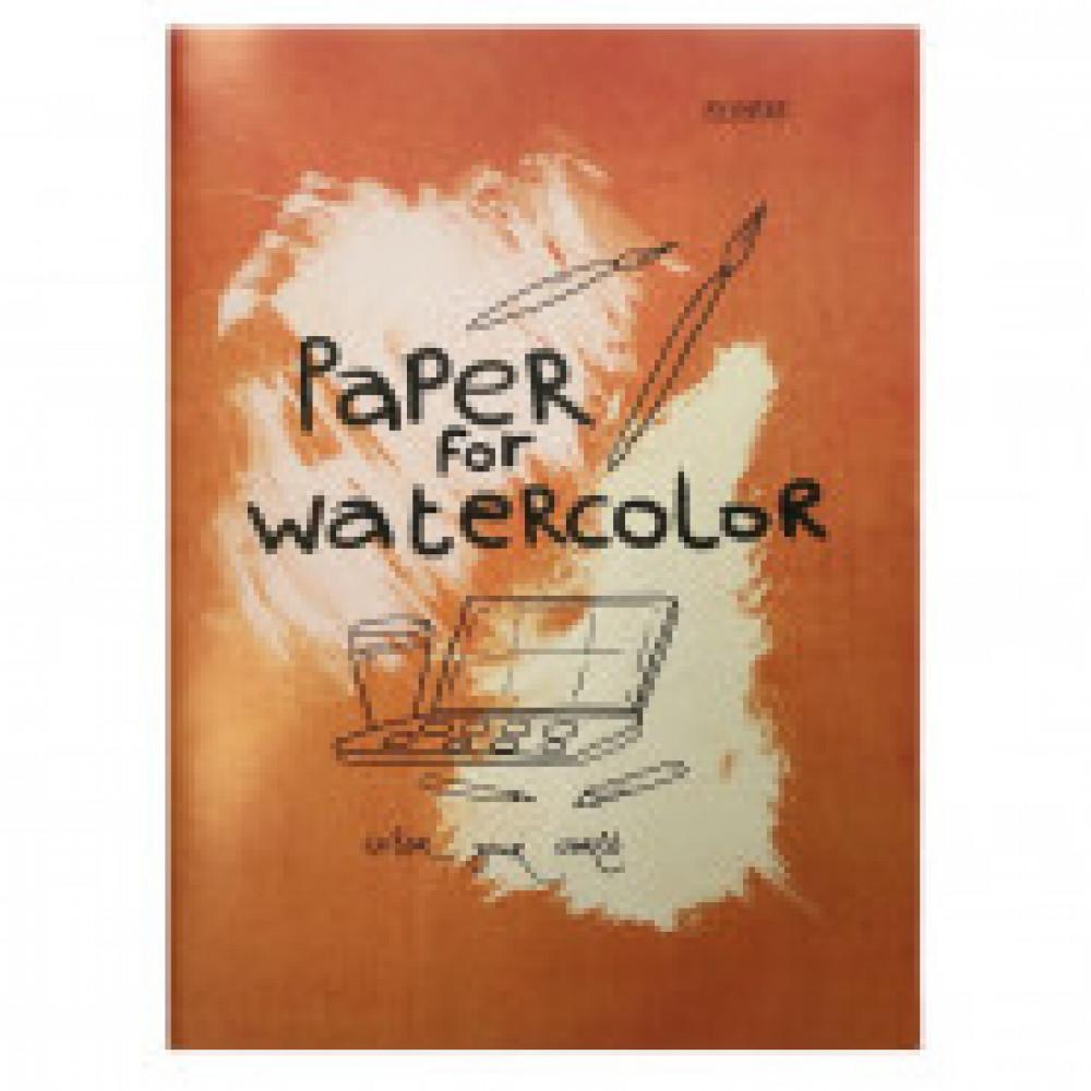 Папка для рисования акварелью А3,20л,180гр/м2 Kroyter Проф 08252