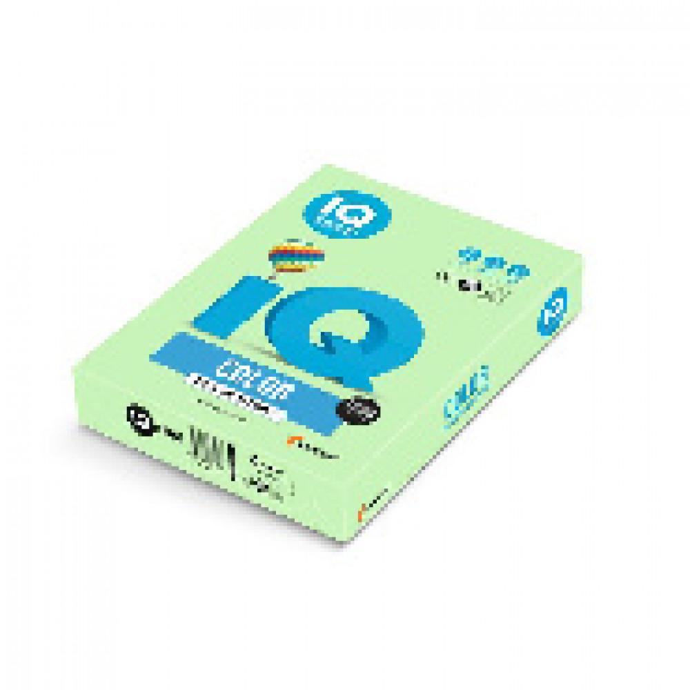 Бумага цветная IQ COLOR (А4,160г,MG28-зеленый) пачка 250л.