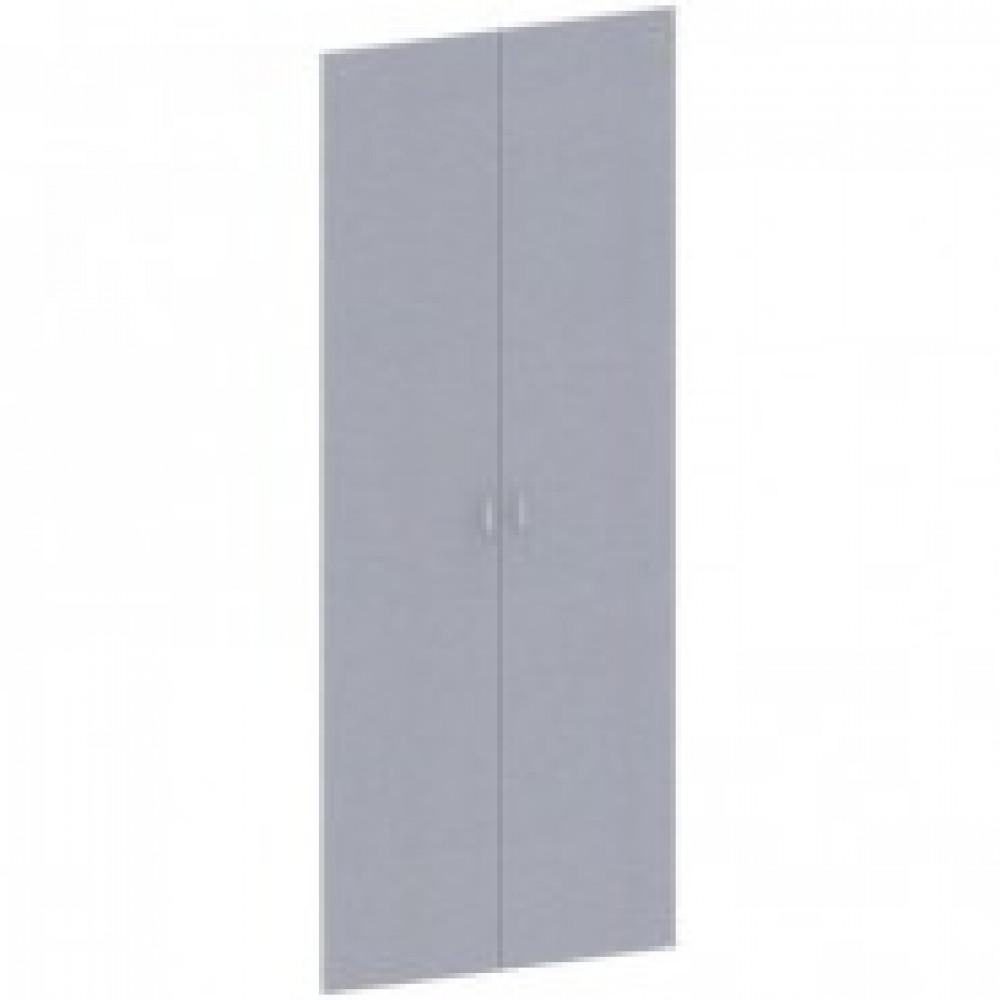 Двери высокие Этюд (комплект, серый)