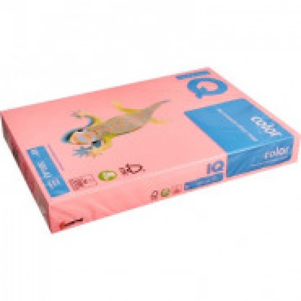 Бумага цветная IQ COLOR (А3,80г,NEOPI-розовый неон) пачка 500л.