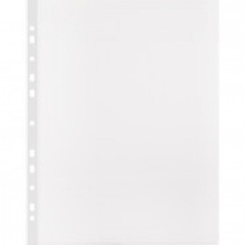 Папка -файл перфорированная А4 100шт., гладкая Элементари 0,45 мм