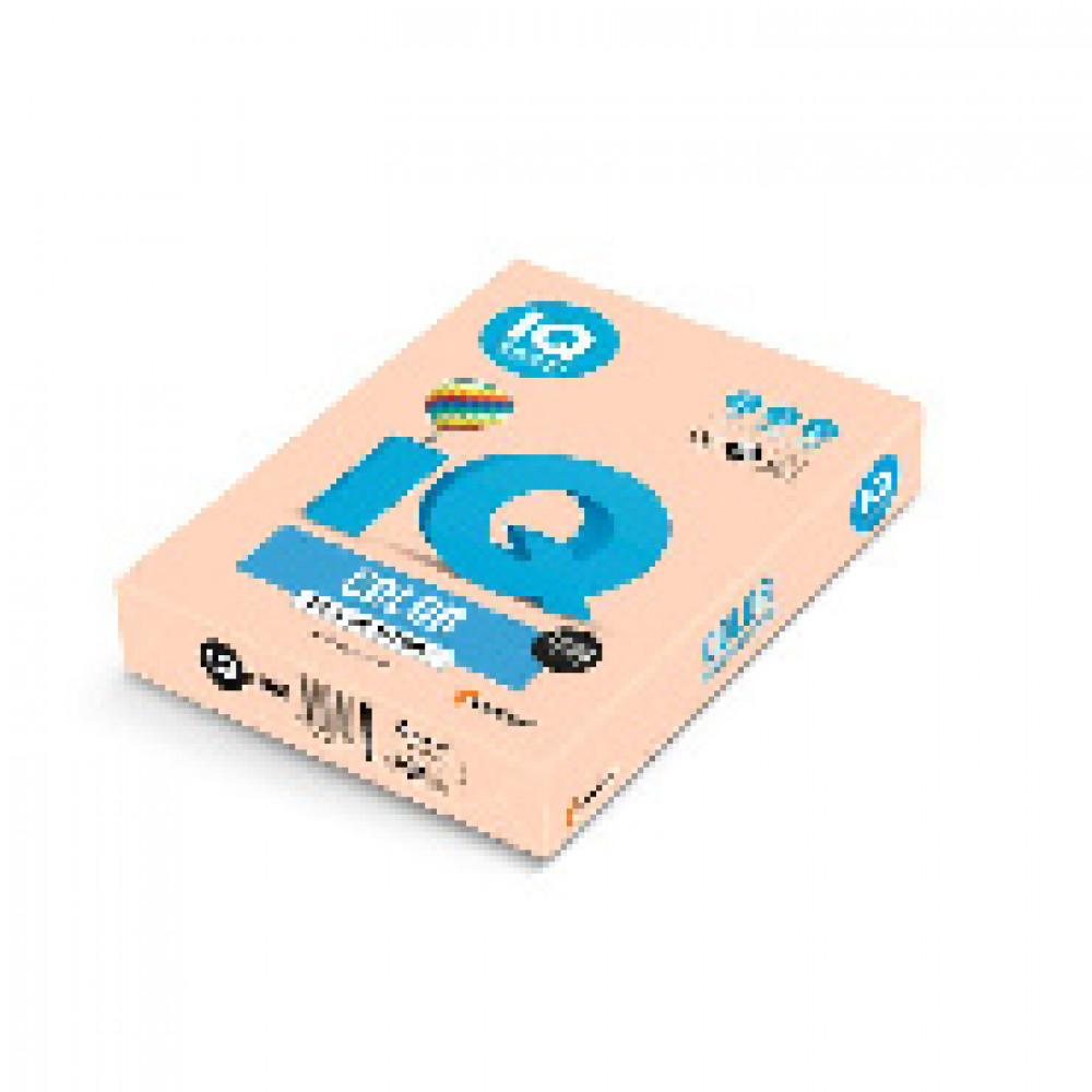 Бумага цветная для печати IQ Color бежевая пастель SA24 (А4, 80 г/кв.м, 500 листов)
