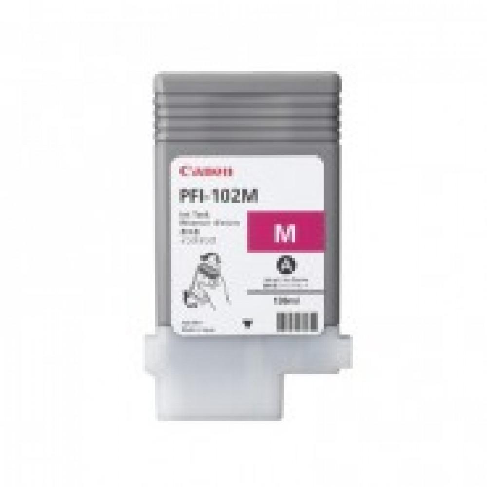 Картридж струйный Canon PFI-102M (0897B001) пур. для IPF500/600/700
