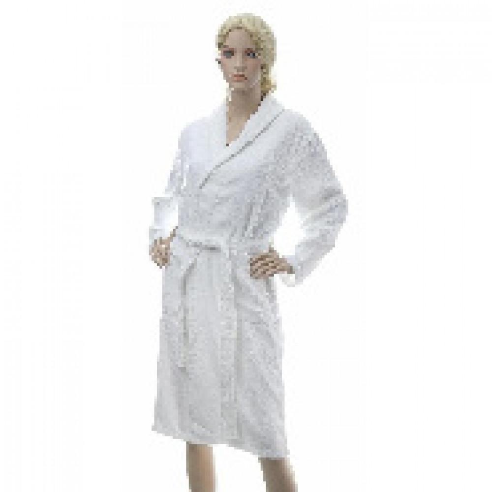 Халат Махровый Arya Otel размер M 350 гр/м2, белый