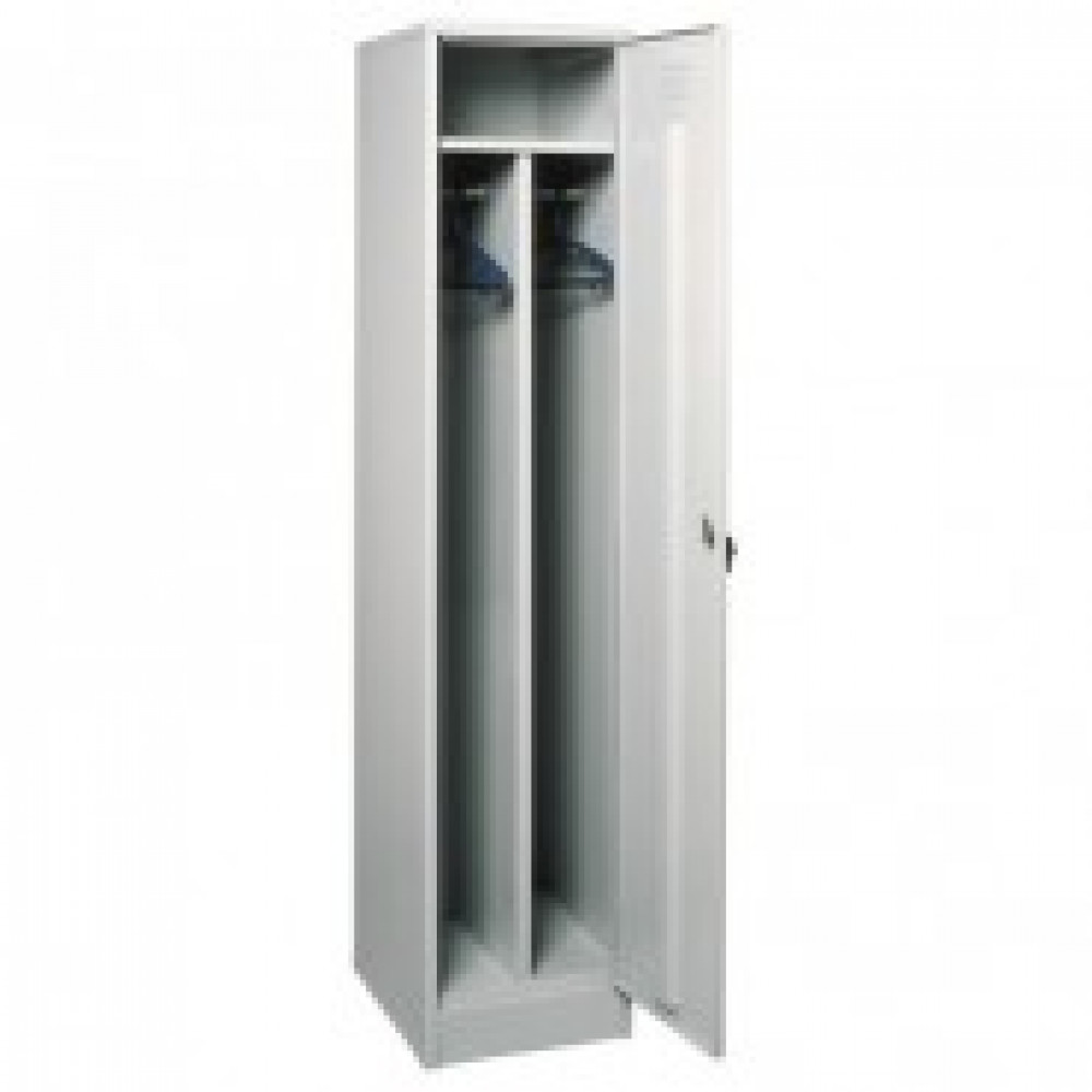 Метал.Мебель P_ШРМ21 шкаф д/одежды 1 дв. 400х500х1860
