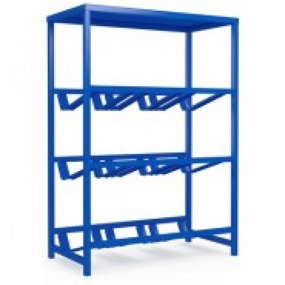 Метал.Мебель KD_Бомис-9П Стеллаж для воды бутилир. на 9 тар