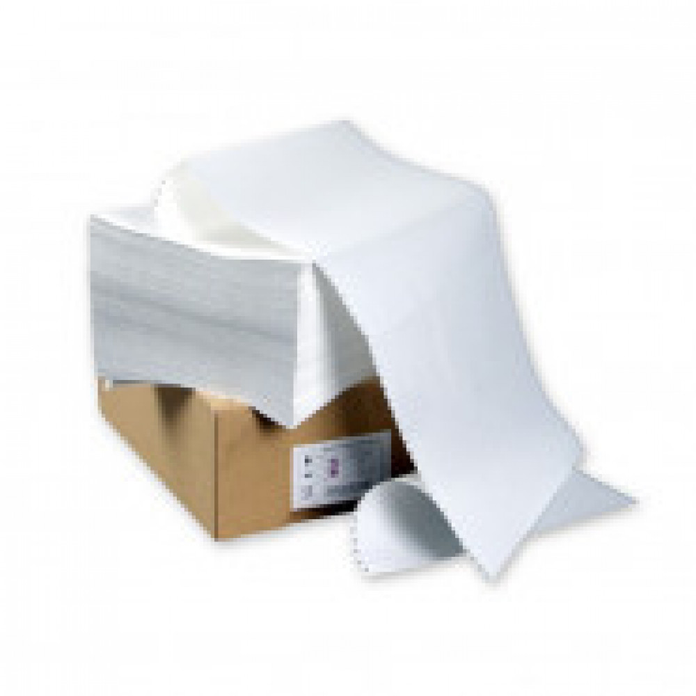 Перфорированная бумага Promega  420мм 1-сл.,шаг12 ,бел.100%,НП, 1500л/уп