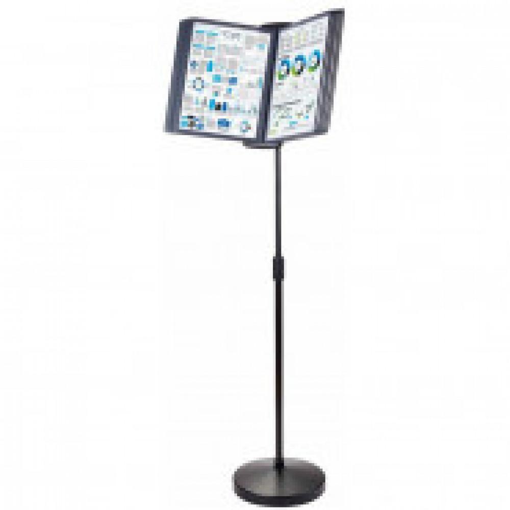 Демо-система Promega office FDS032W напольная 10 пан., черный